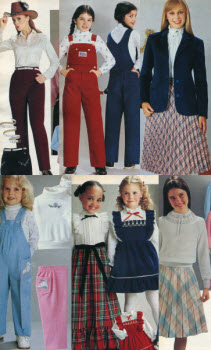 1980s Children's Fashion Part of Our Eighties Fashions Section - photo#10