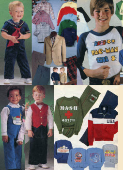 Vintage 1980s Childrens Fashion Clothes
