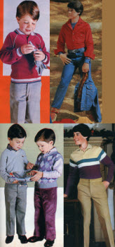 1980s Children's Fashion Part of Our Eighties Fashions Section - photo#12