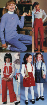 1980s Children's Fashion Part of Our Eighties Fashions Section - photo#7