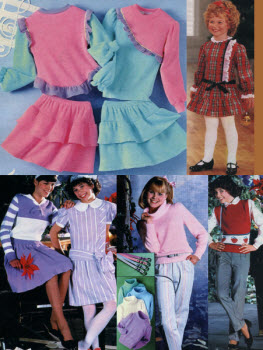 1984 Girls Clothes