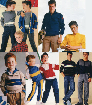 1980s Children's Fashion Part of Our Eighties Fashions Section - photo#26