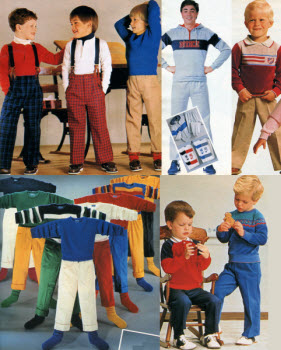 1980s Children's Fashion Part of Our Eighties Fashions Section - photo#17