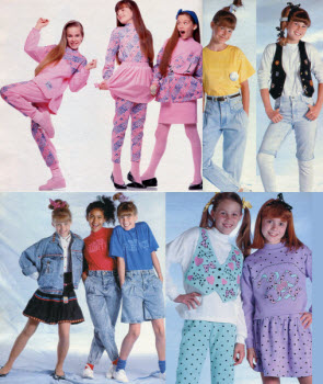1989 Girls Clothes