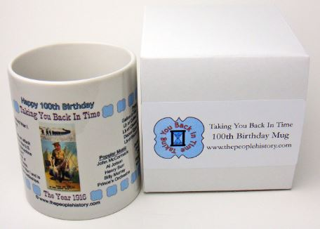Happy 100th Birthday 1916 Coffee Mug