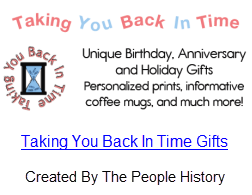 Taking You Back In Time Gift Selection