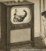 Early 50s Black and White TV
