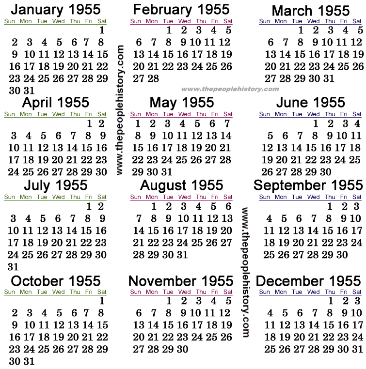 what happened in 1955 including pop culture significant events key