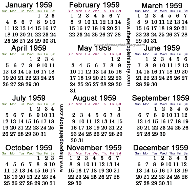 "Search Results for ""January 1959 Calendar"" – Calendar 2015"
