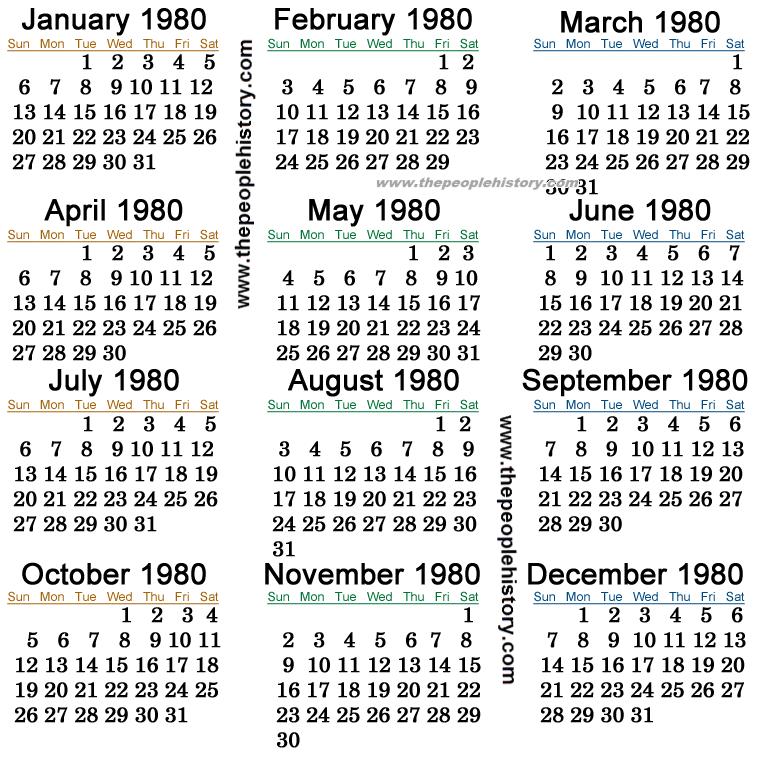 La nouvelle preuve par l'image ! - Page 3 1980-calendar