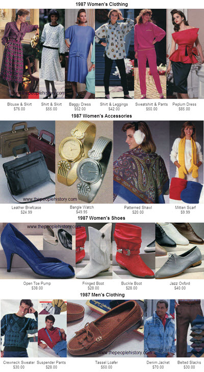 Fashion Clothing From 1987