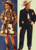 Cowboy and Cowgirl childrens outfits