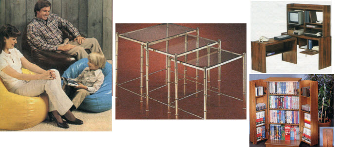 Some Examples of Furniture From The Eighties