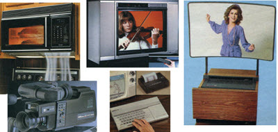 Some Examples Of Home Appliances From The 1980's