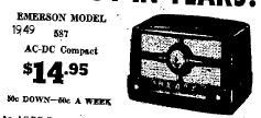 August 29th 1949 AC/DC Compact Radio