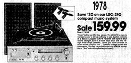 August 27th 1978 Music System