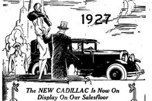 Serptember 11th 1927 Cadillac