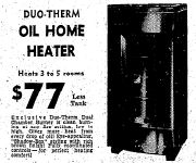September 5th Oil Heater 1955