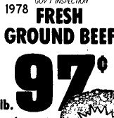 16th September 1978 Ground Beef