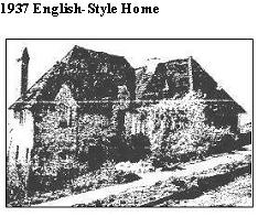 English style home 30's