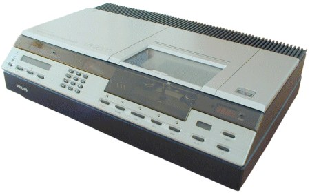 video recorder history:
