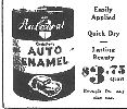 Paint your own car with enamel for $3.73 per quart