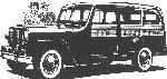 Willys Jeep station sedan 1948