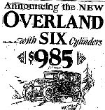 Willys Overland 1920s Price