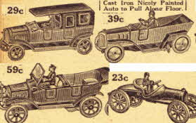 Cast Iron Cars