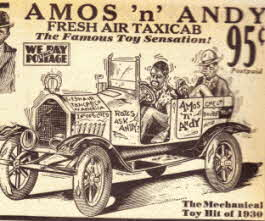 Amos and Andy Taxi From The 30's Radio Show