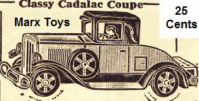 Cadalac Coupe from the Thirties