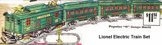 1930s Lionel Electric Train Set