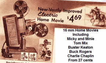1930s Home Movie Projector