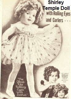 30s Shirley Temple Doll