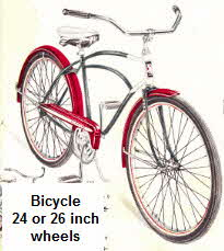 Boys / Mens 26 inch wheel two tone Bicycle