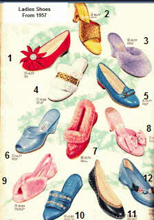 Ladies Shoes For Sale From the late 50s