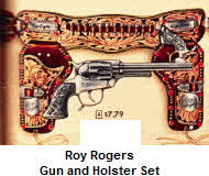 Roy Rogers Gun and Holster Set