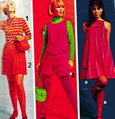 1960s Mini Skirts and Mini Dresses