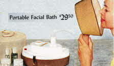 Ladies Portable Face Bath