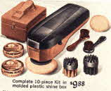 Mens 1967 Shoe Polishing Kit