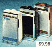 Late 60's AM Portable Transistor Radios