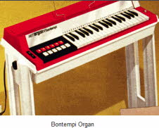 Bontempi Console Organ From The 1970s