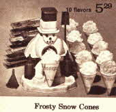 Frosty Snow Cone Maker From The 1970s