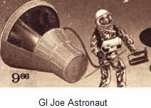 1970's GI Joe Astronaut In Space