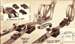 Hot Wheels Track and Cars From The 1970s