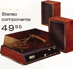 The New Stereo Component System from early 70's