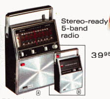 Stereo 5 band Radio From The 1970s