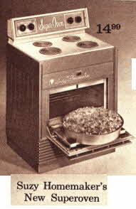 Suzy Homemakers New Super oven From The 1970s