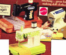 Little Girls 1st Sewing Machines From The 1970s