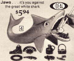 Ideal Jaws Great White Shark Game From The 1970s